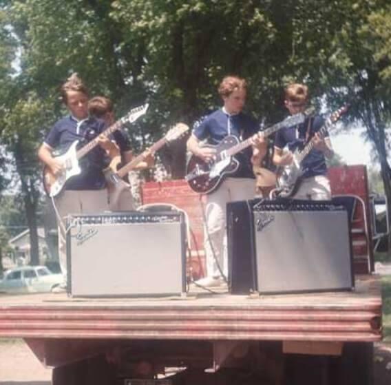 John Lake Music Lessons Iowa City guitar students